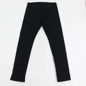 Uniqlo Slim Straight Selvedge Denim Jeans Low Rise